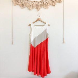 Anthropologie Maeve Cameron Asymmetrical Dress
